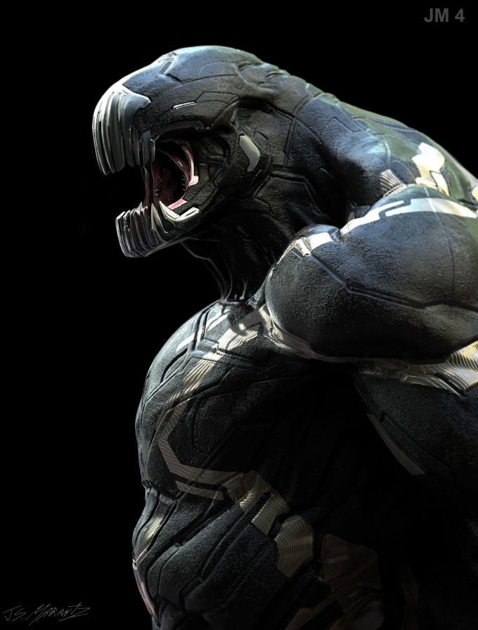 Avengers Infinity War Concept Art Jerad Marantz 01 0utrider 4