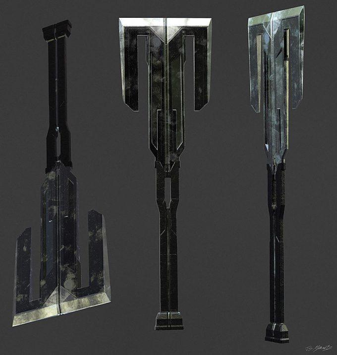 Avengers Infinity War Concept Art Jerad Marantz 07 Weapon Cull Obsidian