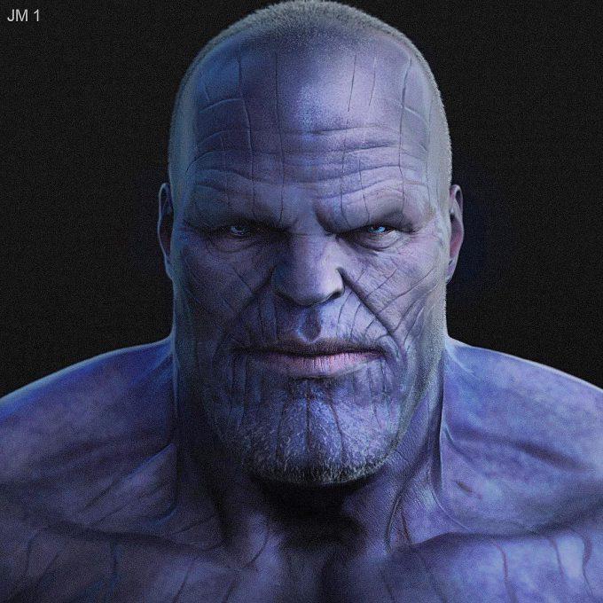 Avengers Infinity War Concept Art Jerad Marantz 08 Thanos