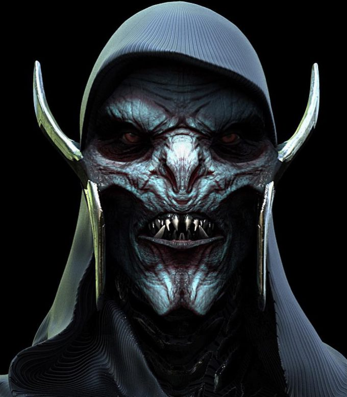 Avengers Infinity War Concept Art Jerad Marantz 09 Corvus Glaive 01
