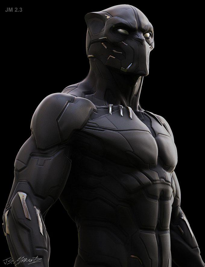 Avengers Infinity War Concept Art Jerad Marantz Black Panther 4 2