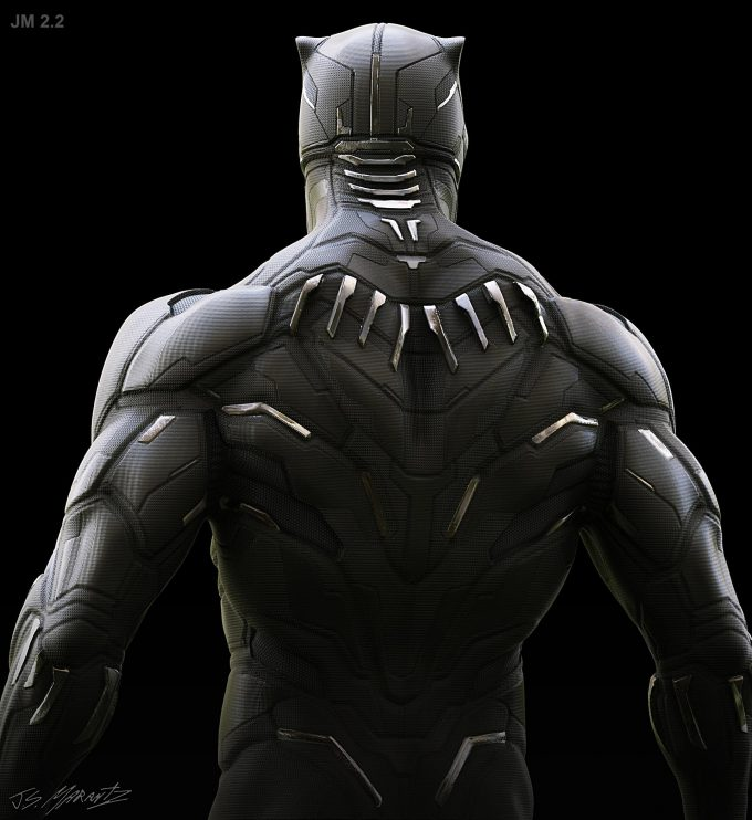 Avengers Infinity War Concept Art Jerad Marantz Black Panther 4 3