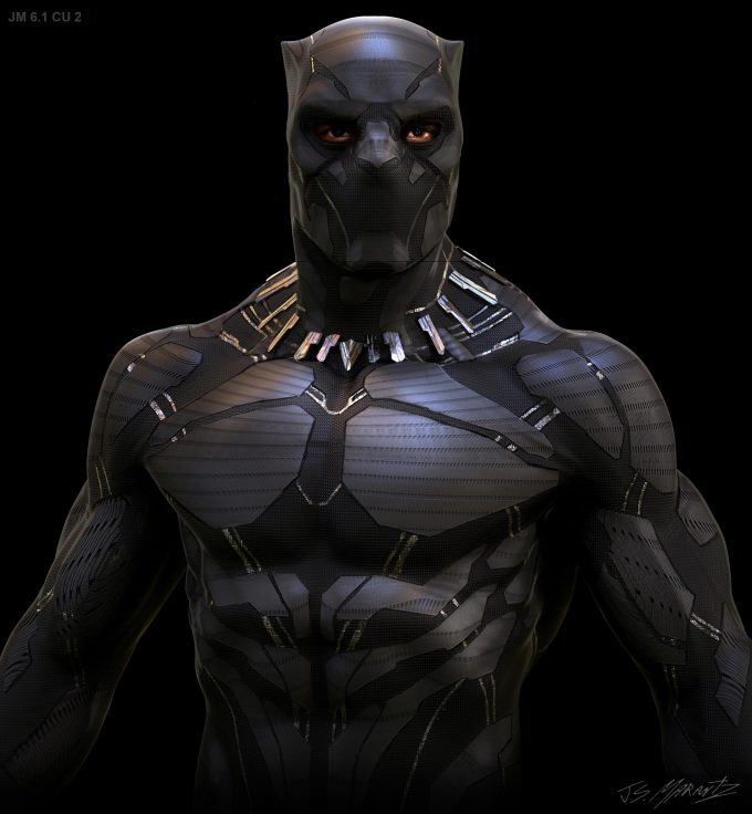 Avengers Infinity War Concept Art Jerad Marantz Black Panther 6 1 2 cu2