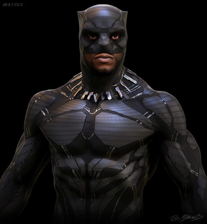 Avengers Infinity War Concept Art Jerad Marantz Black Panther 6 1 cu 2
