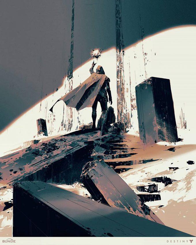 Destiny 2 Artwork Grimoire Anthology Piotr Jablonski Calcified Fragment