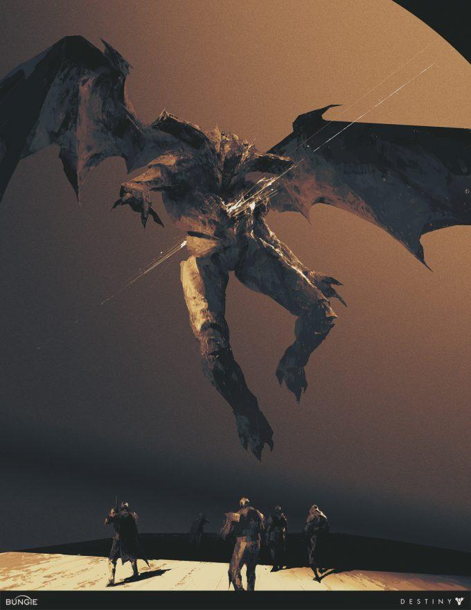 Destiny 2 Artwork Grimoire Anthology Piotr Jablonski Oryx