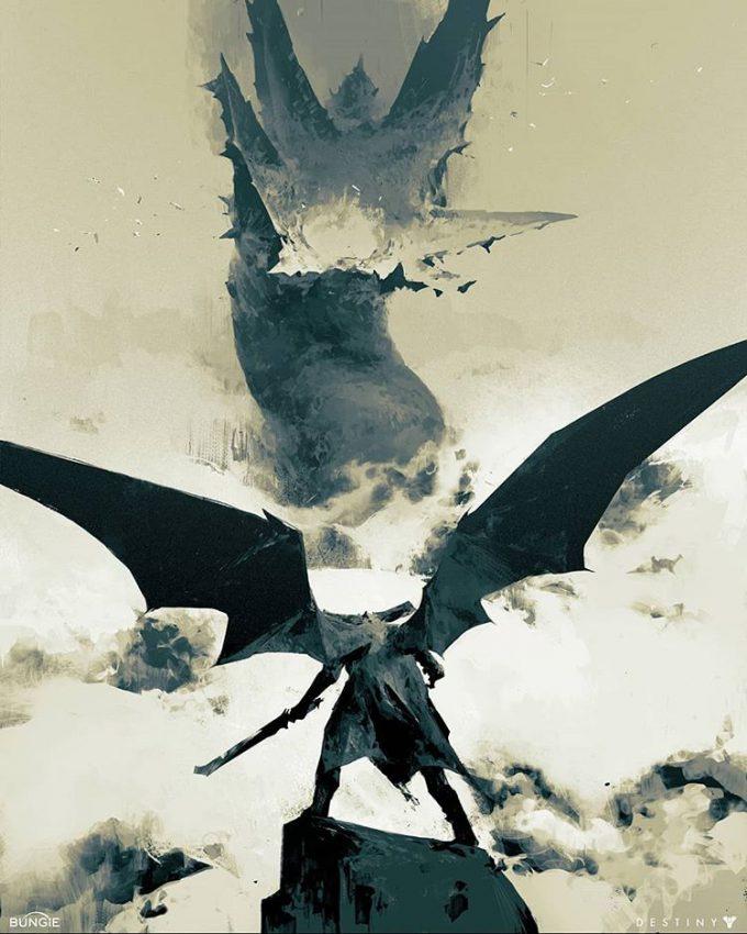 Destiny 2 Artwork Grimoire Anthology Piotr Jablonski Oryx Akka