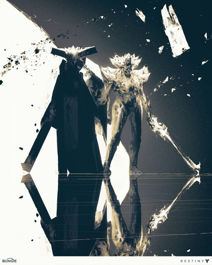 Destiny 2 Artwork Grimoire Anthology Piotr Jablonski Oryx Crota
