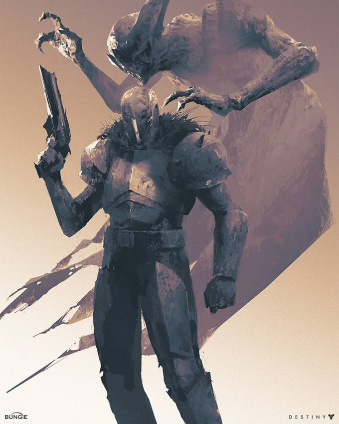 Destiny 2 Artwork Grimoire Anthology Piotr Jablonski Xyor and Rezyl