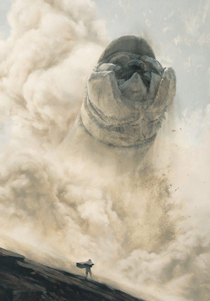 Dune Frank Herbert Novel Art The Folio Society Illustrated Sam Weber MuadDib Summons The Great Maker