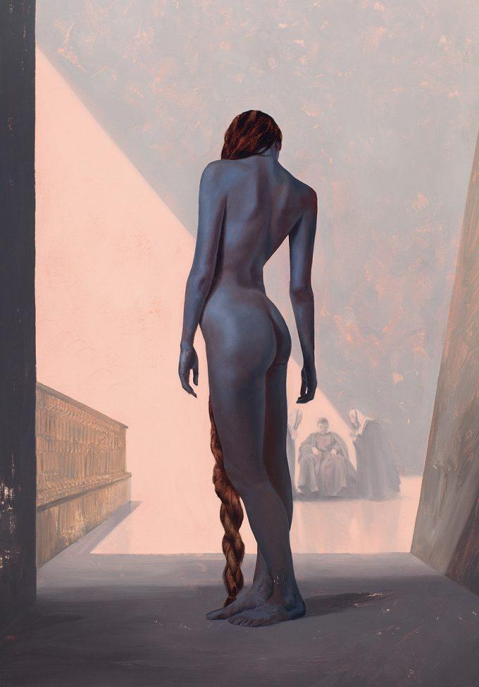 Dune Frank Herbert Novel Art The Folio Society Illustrated Sam Weber The Slave concubine for Padishah Emperor