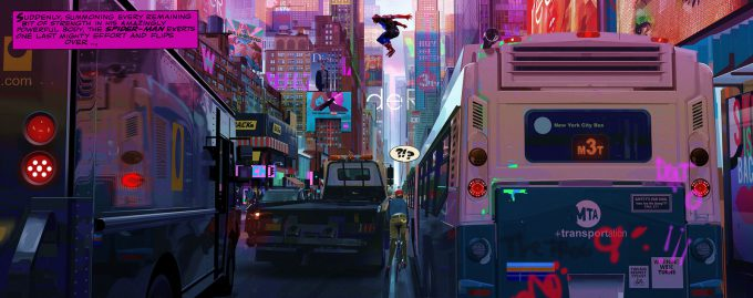 Spider Man Into the Spider Verse Concept Art Alberto Mieglo Keyframe 04