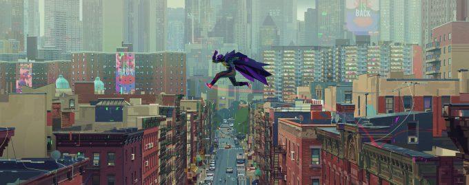 Spider Man Into the Spider Verse Concept Art Alberto Mieglo Keyframe 07
