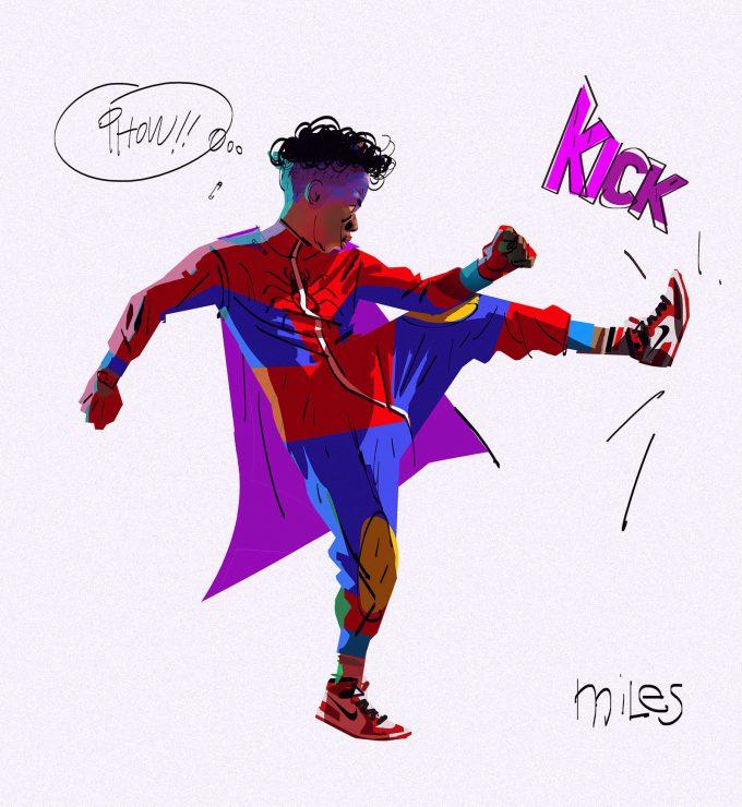 Spider Man Into the Spider Verse Concept Art Alberto Mieglo Miles Morales 01