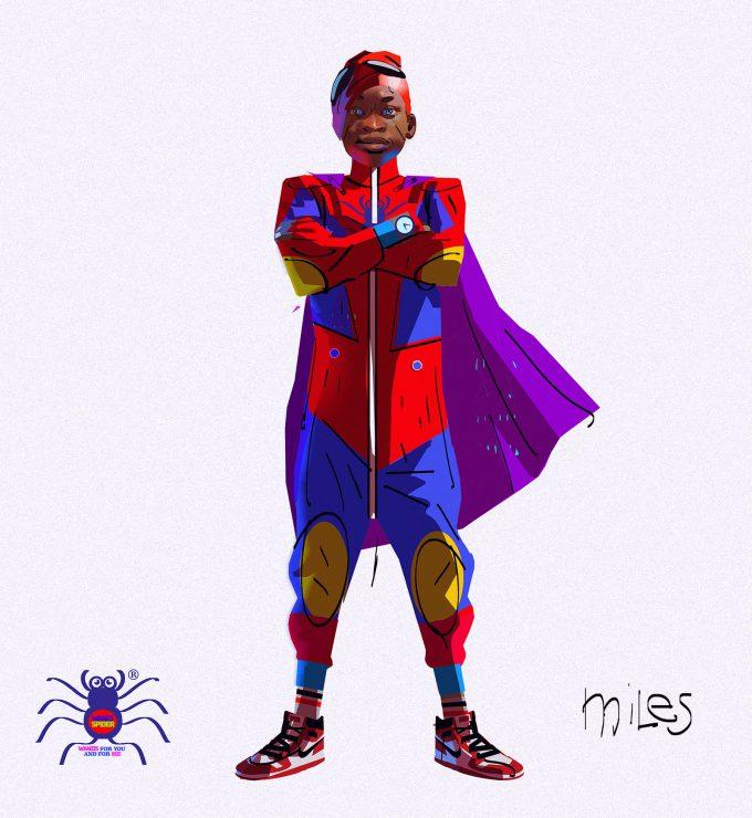 Spider Man Into the Spider Verse Concept Art Alberto Mieglo Miles Morales 02