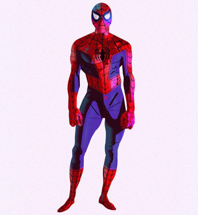 Spider Man Into the Spider Verse Concept Art Alberto Mieglo New Spider Man 01