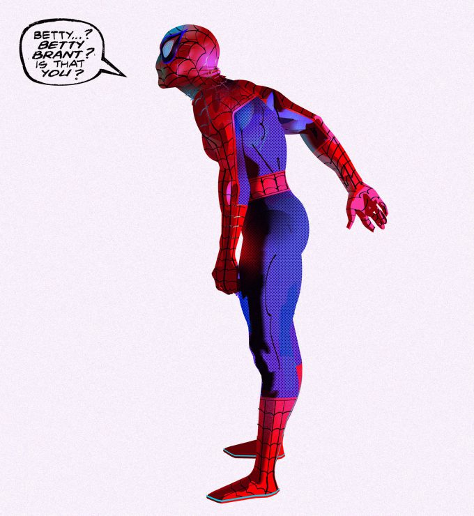 Spider Man Into the Spider Verse Concept Art Alberto Mieglo New Spider Man 02