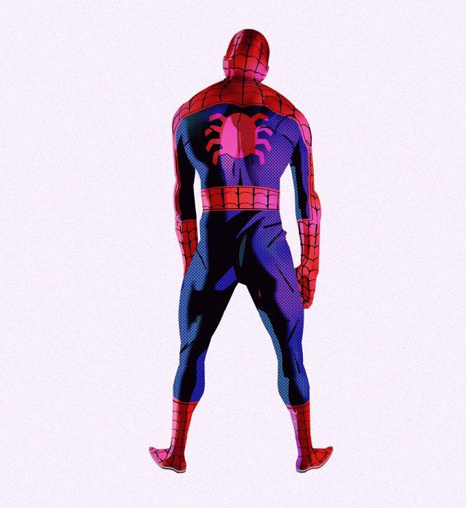 Spider Man Into the Spider Verse Concept Art Alberto Mieglo New Spider Man 04