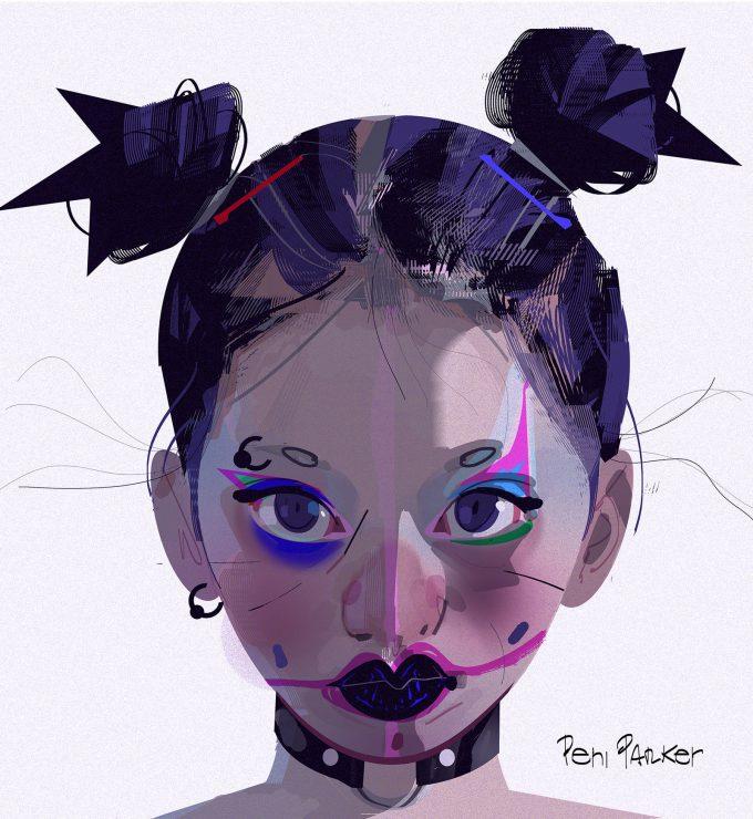 Spider Man Into the Spider Verse Concept Art Alberto Mieglo Peni Parker 02
