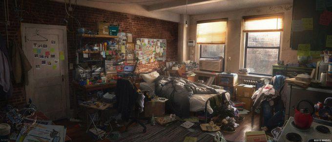 Spider Man PS4 Game Concept Art Dennis Chan DEuJ VaXoAAfEPA