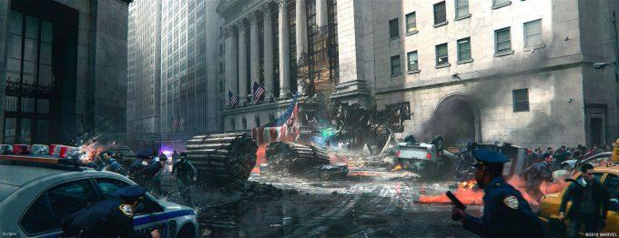Spider Man PS4 Game Concept Art Dennis Chan DEuKo8bXgAE dld