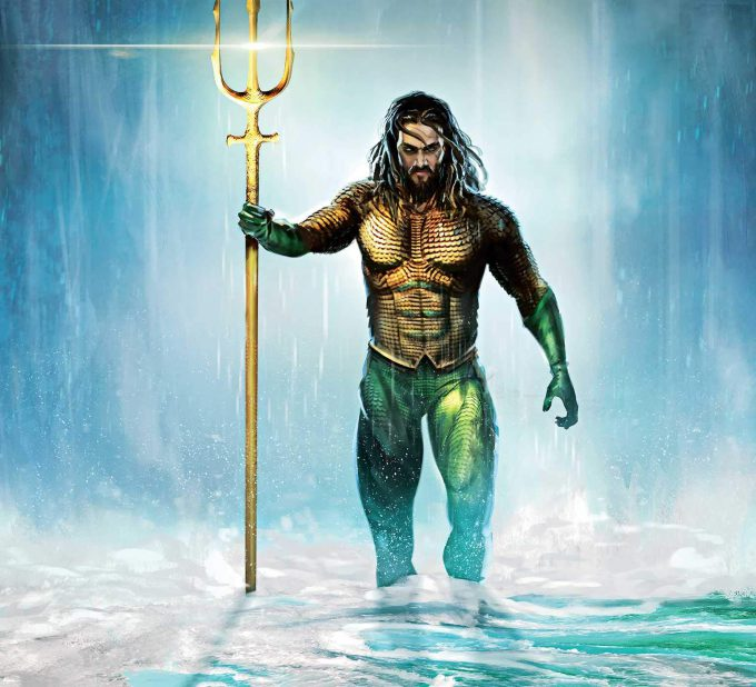 The Art and Making of Aquaman Art Book 01