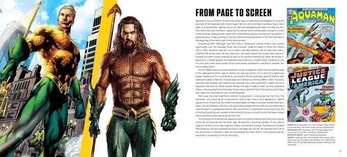 The Art and Making of Aquaman Art Book 02