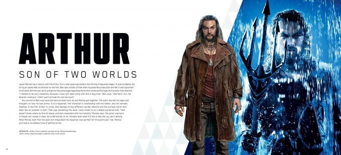 The Art and Making of Aquaman Art Book 03