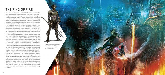 The Art and Making of Aquaman Art Book 05