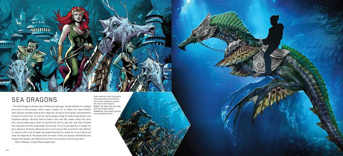 The Art and Making of Aquaman Art Book 06