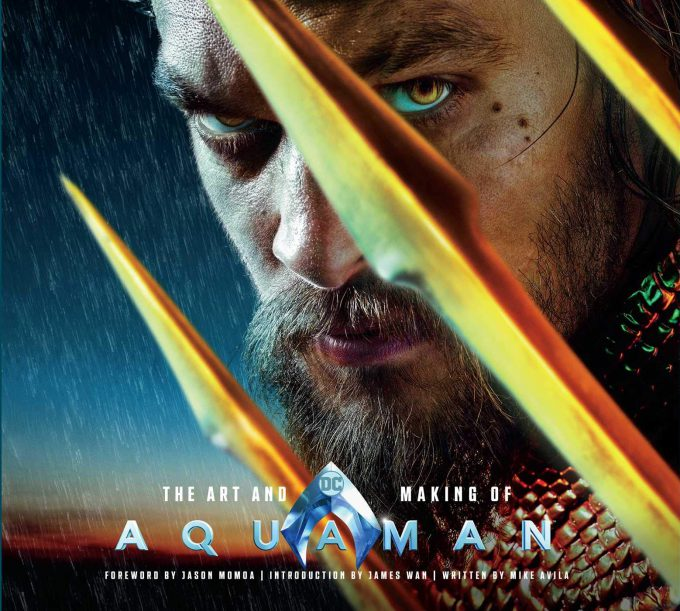 The Art and Making of Aquaman Art Book Cover 01