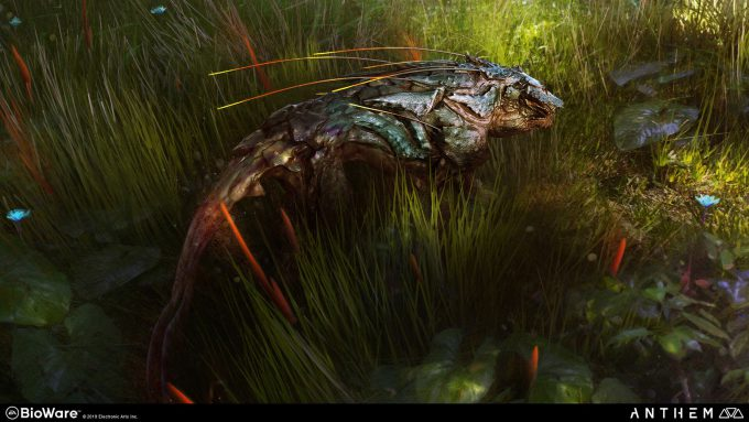 Anthem BioWare Game Concept Art Design Alex Figini creatures 01