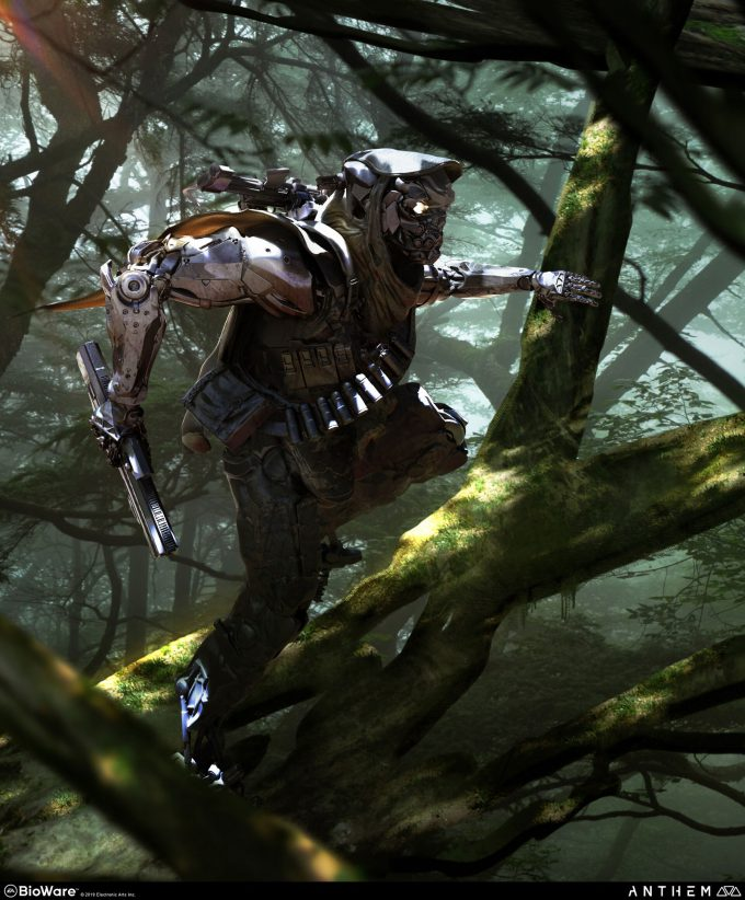 Anthem BioWare Game Concept Art Design Alex Figini exo archetypes 01