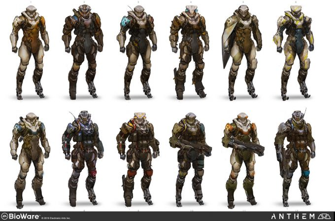 Anthem BioWare Game Concept Art Design Alex Figini lancer 01