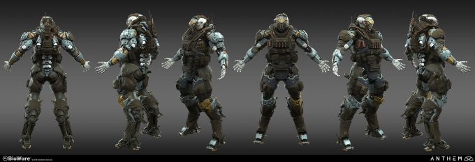 Anthem BioWare Game Concept Art Design Alex Figini lancer 02