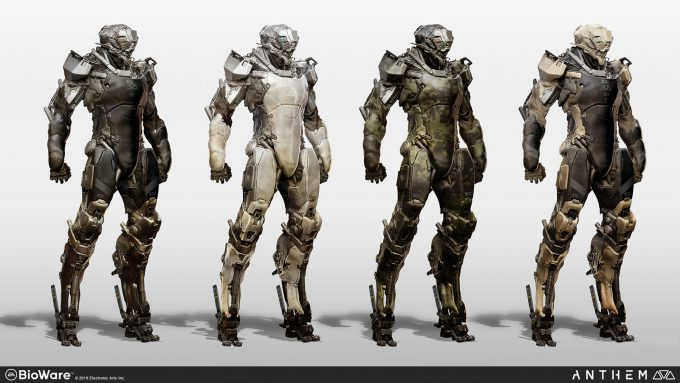 Anthem BioWare Game Concept Art Design Alex Figini lancer 03