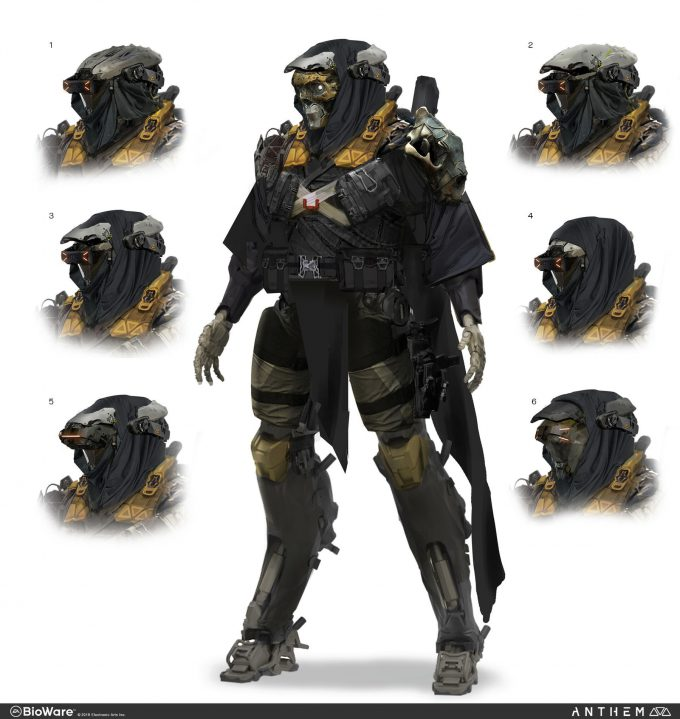 Anthem BioWare Game Concept Art Design Alex Figini lancer 04