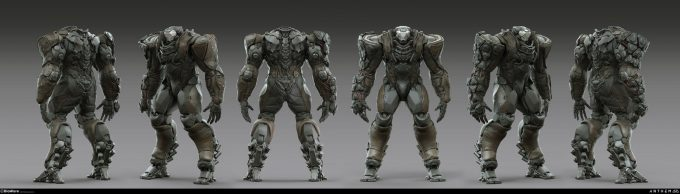 Anthem BioWare Game Concept Art Design Alex Figini sentinel heavy renders 02