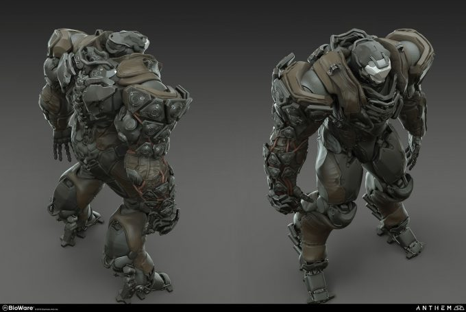 Anthem BioWare Game Concept Art Design Alex Figini sentinel heavy renders 03details