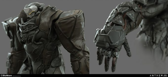 Anthem BioWare Game Concept Art Design Alex Figini sentinel heavy renders 04details