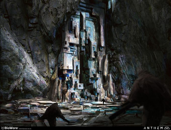 Anthem BioWare Game Concept Art Design Alex Figini shaper ruins 03