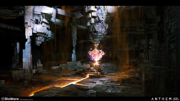 Anthem BioWare Game Concept Art Design Alex Figini shaper ruins 04