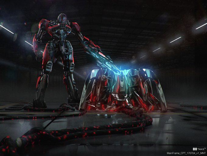 Bumblebee 2018 Movie Concept Art Matt Tkocz Mainframe 01