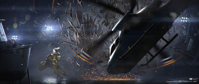 Bumblebee 2018 Movie Concept Art Matt Tkocz Tower Antenna Env 02