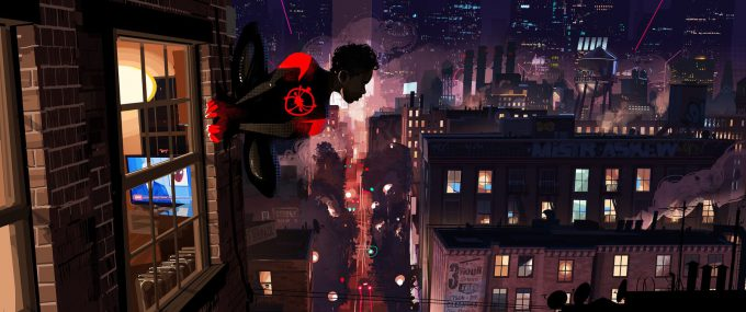 Spider Man Into The Spider Verse Concept Art patrick o keefe comps0008