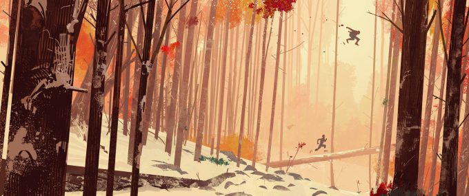 Spider Man Into The Spider Verse Concept Art patrick o keefe oct labs forest 002