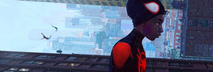 Spider Man Into The Spider Verse Concept Art patrick o keefe spiderverse cover final ok