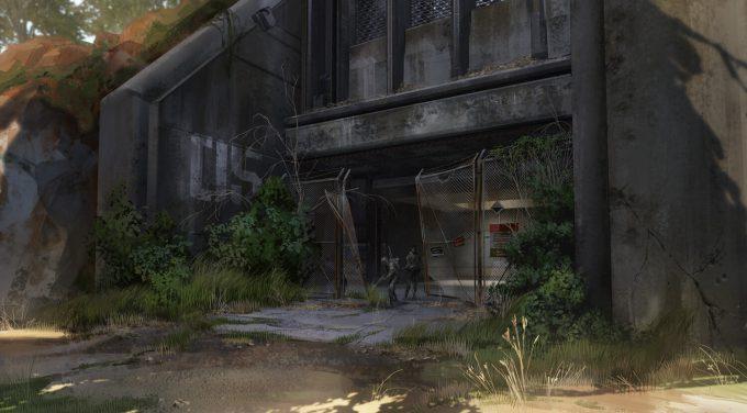 Apex Legends Concept Art Hethe Srodawa military base backdoor01