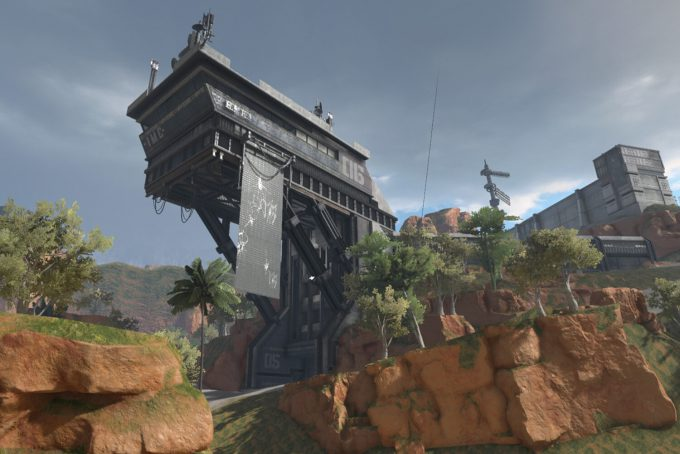 Apex Legends Concept Art Hethe Srodawa military base overhang01c