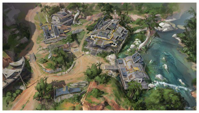 Apex Legends Concept Art Hethe Srodawa river01 overview